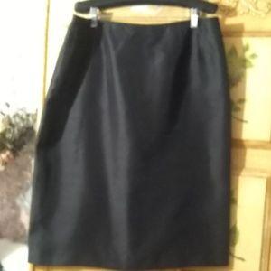 Jones studio separates black a-line skirt. NWOT